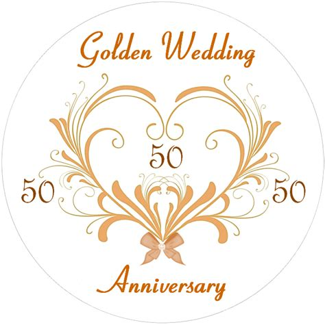 Wedding Anniversary Golden by Cake Toppers Weddings Engagements Anniversaries