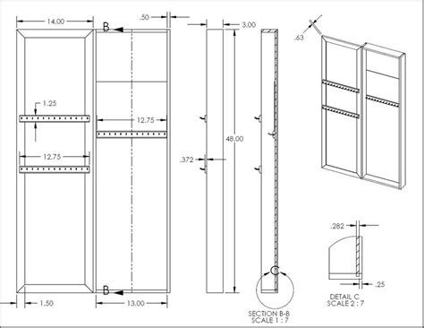 Jewelry Mirror Armoire Download Jewellery Cabinet Plans Plans Free