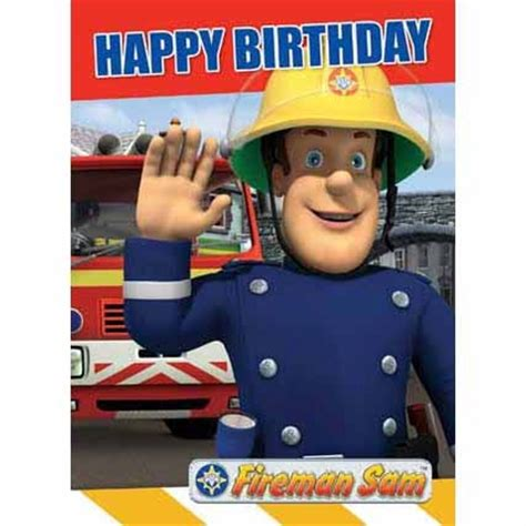 Fireman Sam Birthday Card Fireman Sam Happy Birthday Card Danilo