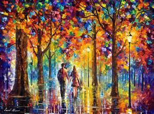 Beautiful Abstract Canvas Art #5: Lovers_by_leonid_afremov_by_leonidafremov-da3j4em.jpg