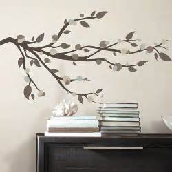 room mates 33 piece deco mod branch peel and stick wall foil tree branch peel and stick wall decal