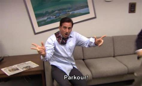 the office quotes on quot parkour http t co