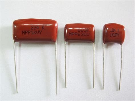 polypropylene capacitors metallized polypropylene capacitor