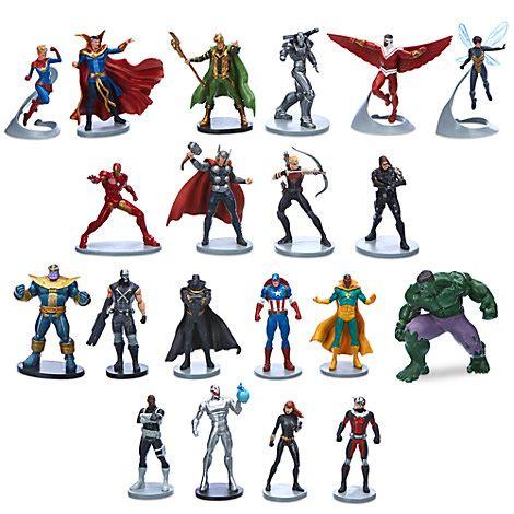 Marvel The Avengers Figurenset 20 Teilig Princess Coloring Games L