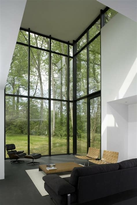 window on ceiling i de a living room floor to ceiling windows