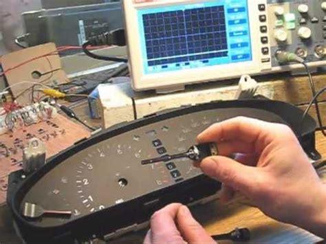 automotive repair manual 1996 lexus ls instrument cluster mbcluster lexus instrument cluster needle and backlight led upgrade youtube