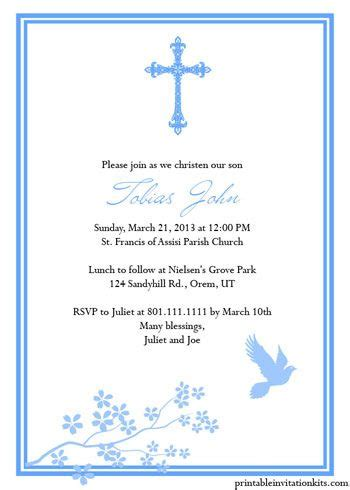 church blessing card template free printable religious invitation templates