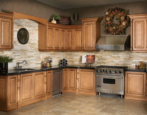 kitchen counters and backsplash marron cohiba granite w golden gate stackstone backsplash