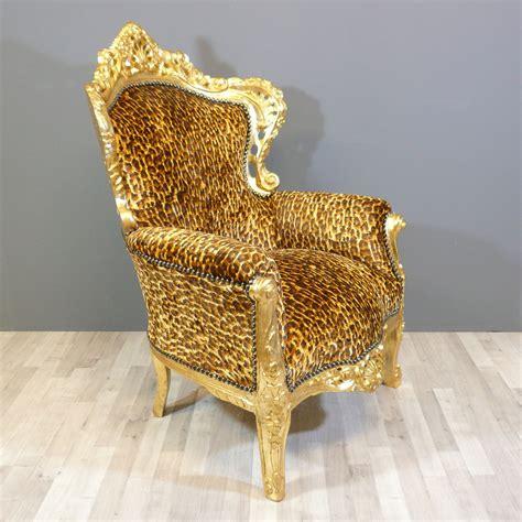 leopard armchair baroque armchair leopard chair