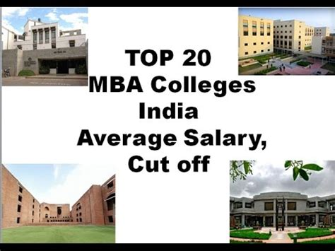 Npti Mba Cat Cut by Cat Cut Salary Top 20 Mba Institutes In India