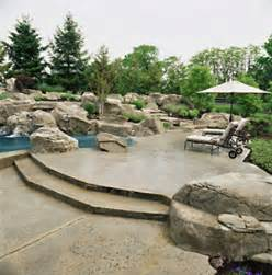 concrete patio design pictures and ideas