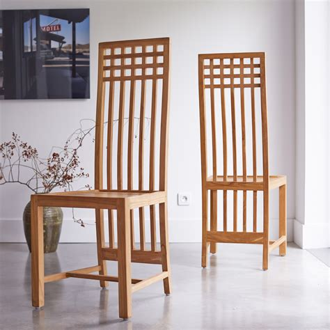 kwad teak chair natural wood chair sale  tikamoon