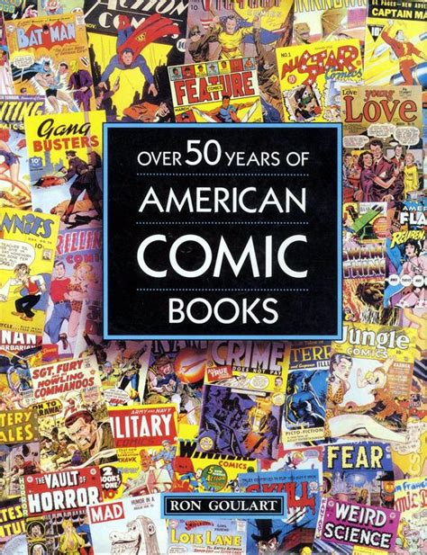 50 years of book pictures 50 years of american comic books hc 1991 comic books