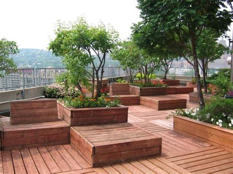 garten terrasse mit dach 234 best images about rooftop garden on decks