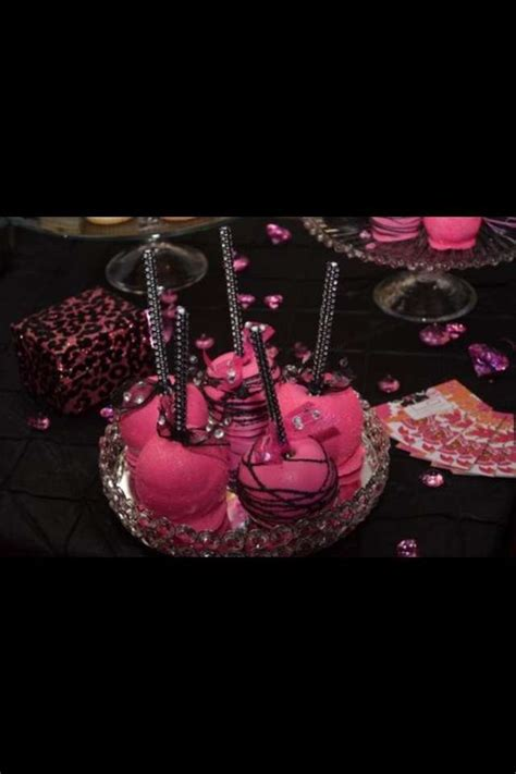 pink and black launch ideas photo 6 of