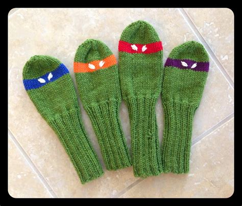 knitting pattern golf club covers knit golf head covers pattern a knitting blog