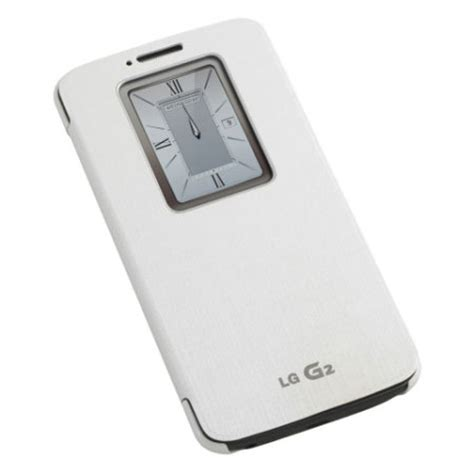 Voia Window For Lg G2 Original White lg g2 quickwindow white