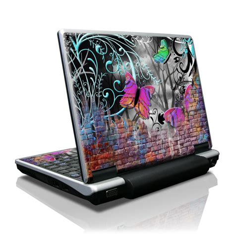 butterfly wall toshiba nb100 skin covers toshiba nb100 for custom style and protection