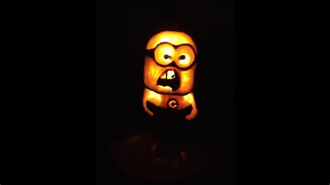 carve  minion pumpkin  halloween easy carving