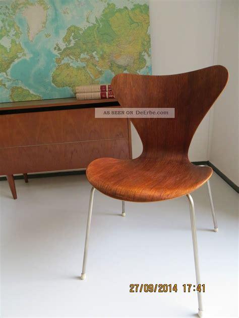 stuhl 60er design arne jacobsen 3107 fritz hansen 50er 60er teak stuhl