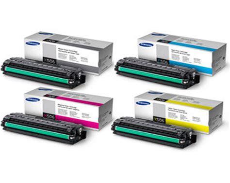 Samsung Printer Clx 6260nd samsung clx 6260nd toner cartridge set black cyan