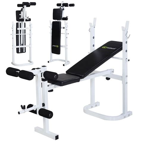 folding solid olympic weight bench incline lift
