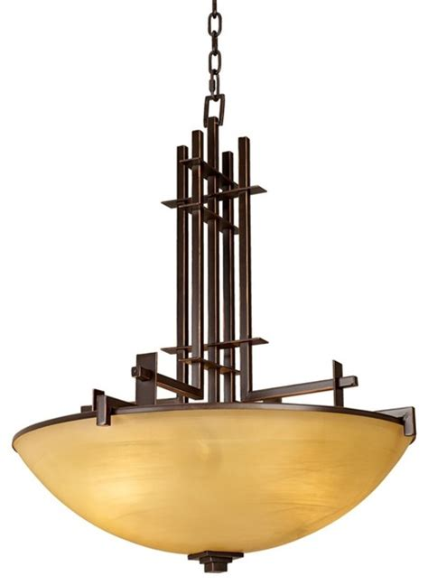 Vanity Bulbs Metro Collection Four Light Pendant Chandelier Modern