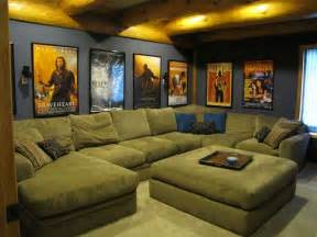 home theater decorations cheap home theater room with a big and our posters on the walls basement home