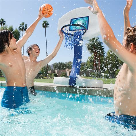 2 In 1 Basketball 2 in 1 basketball set for pools in the swim