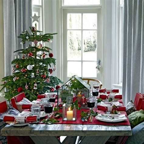 merry christmas decorating ideas   christmas table interior design ideas ofdesign