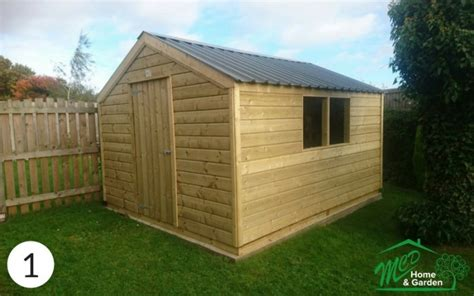 Garden Sheds Made To Order garden sheds best in ireland made to order in finglas