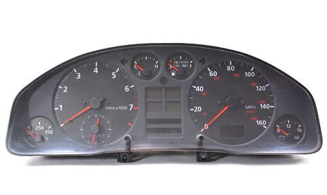 security system 1998 audi a8 instrument cluster gauge cluster speedometer 1998 98 audi a4 b5 genuine 8d0 919 036 carparts4sale inc