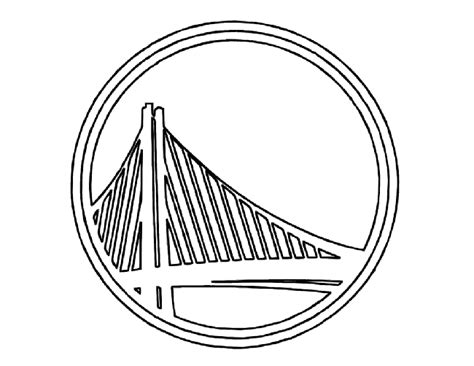 coloring pages of basketball logos golden state warriors basketball coloring page golden