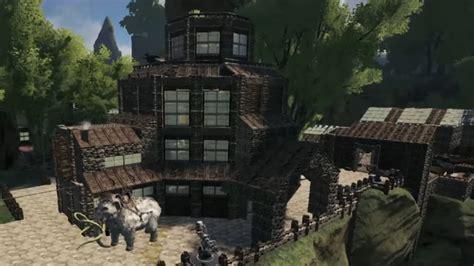 ark house designs 8 of ark survival evolved s coolest bases blogs gamepedia