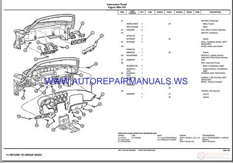 vehicle repair manual 2005 chrysler sebring spare parts catalogs 2001 chrysler concorde parts catalog imageresizertool com