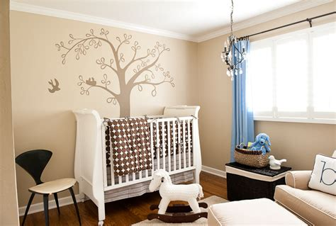 Baby Boy Nursery Wall Decor Ideas Baby Boy Bird Theme Nursery Design Decorating Ideas Simplified Bee