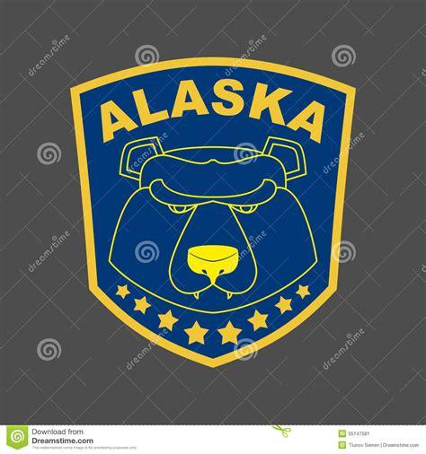 Alaska Stripe alaska stripe or emblem depicting muzzle of a