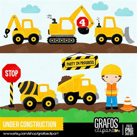 mi cartoon themes under construction digital clipart set construction