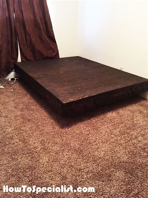 Diy Size Floating Bed Diy Queen Size Floating Bed Howtospecialist How To Build Step By Step Diy Plans