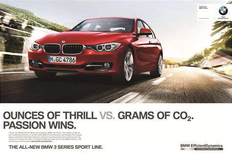 bmw advertisement 2012 bmw 3 series f30 marketing caign passion wins