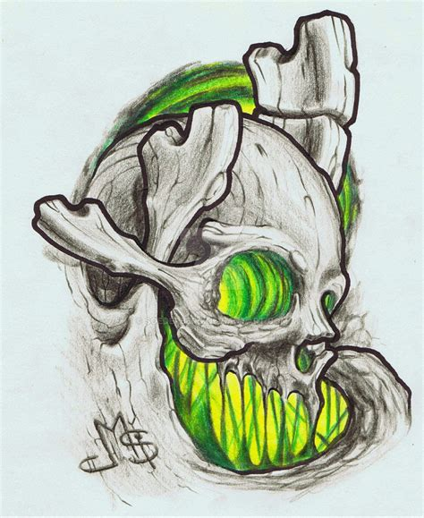 organic tattoo designs biomechanical skull drawings www pixshark images