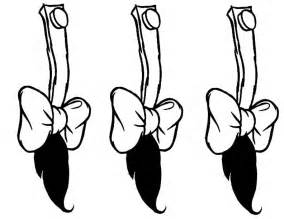 donkey tail clipart 11