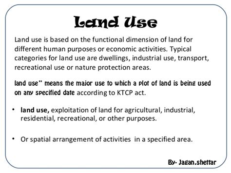 pattern of use definition patterns of land use in towns and cities