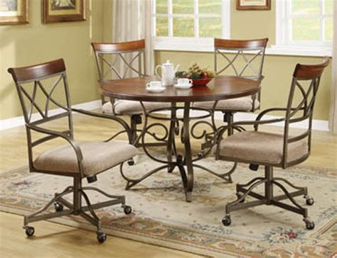 Chromcraft Dining Room Sets by Chromocraft Dining Room Caster Chairs Chair Pads Cushions