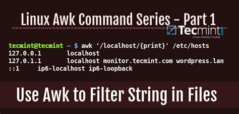 unix 1 5 awk cut last wc commands video tutorial youtube how to use awk and regular expressions to filter text or