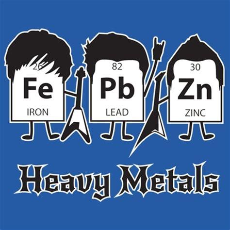 heavy metals periodic table heavy metals periodic table t shirt