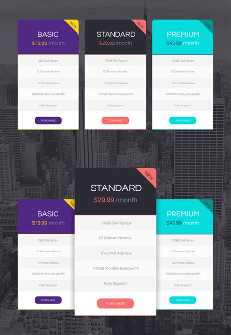 price plan vectors photos and psd files free download free psd files 30 new photoshop psds for designers