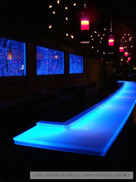 bed bath and beyond glendora frosted bar top water gallery led frosted acrylic bar top water gallery llc