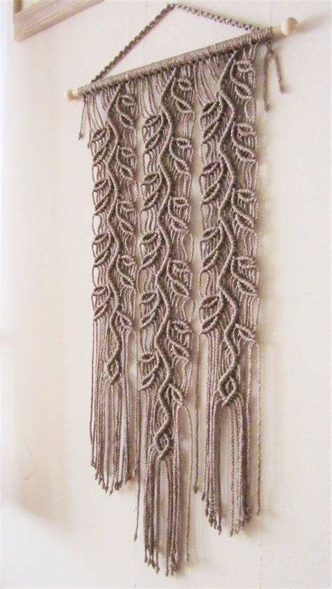 Make Macrame Wall Hangings - 25 b 228 sta makram 233 id 233 erna p 229