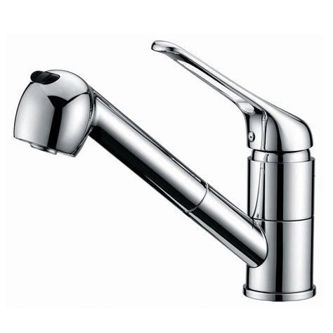 no hot water in kitchen faucet free shipping single handle pull out hot cold water kitchen faucet with swivel spout polished